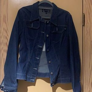 Baby Phat Denim Jacket in Medium Blue